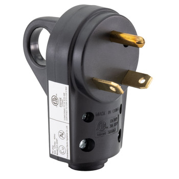 30 Amp RV Plug Replacement Male