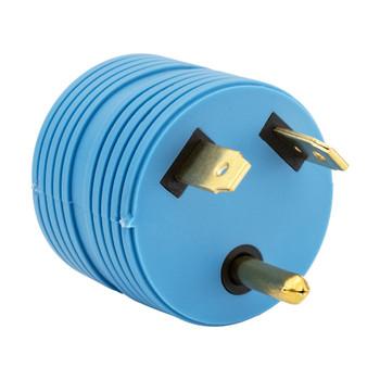 30 Amp RV Plug to 15 Amp Adapter