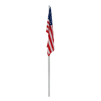 RV Flag Pole Retractable Flag for Campers