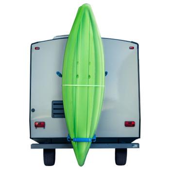 RV Kayak Rack Vertiyak Hitch Mount Standing Kayak Carrier - Fits up to 12' Kayaks