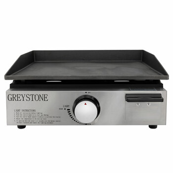 RV Griddle with Cast Iron Cooking Plate
