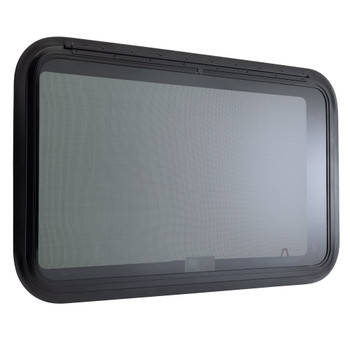 """RV Exit Window 36""""W x 22""""H with Trim Lippert Replacement"""