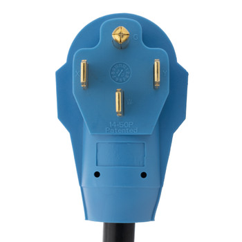 RV 50 Amp Shore Power Plug to 30 Amp Y Adapter