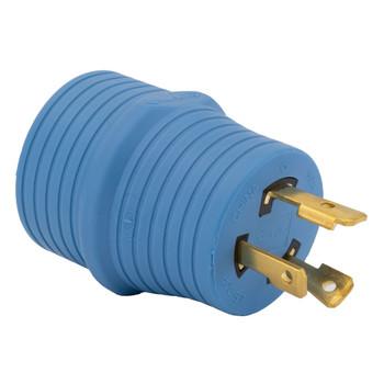 RV 30 Amp Generator Plug Adapter 3 Prong