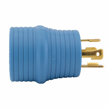 RV 30 Amp Generator Plug Adapter 4 Prong