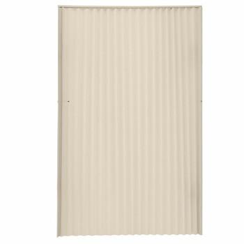 """RV Pleated Folding Door 48"""" x 75"""" Beige"""