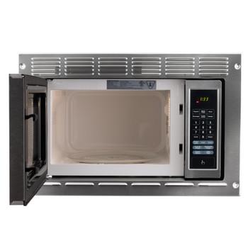 RV Microwave Stainless Steel 0.9 cu. ft.