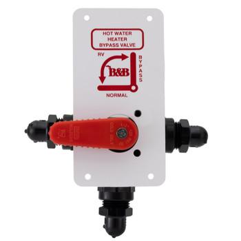RV Diverter Valve Water Heater Bypass