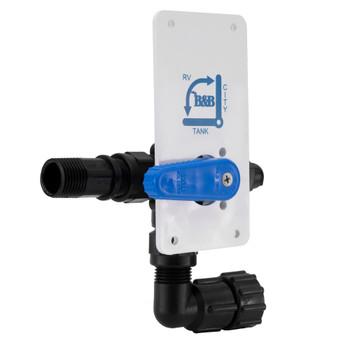 RV Fresh Water Fill Diverter Valve