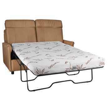 """RecPro Charles 60"""" RV Sleeper Sofa with Hide-a-Bed"""