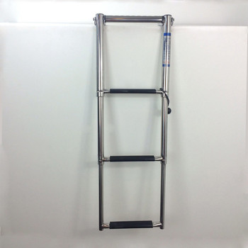 SSL-A3H Three Step Telescoping Boat Ladder for Swim Platforms