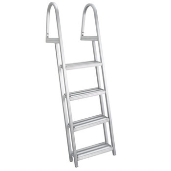 AL-A4 Aluminum Four Step Dock Ladder