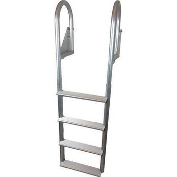 ADL-C4W Aluminum Four Step Flip Up Dock Ladder