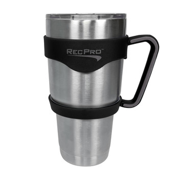 RecPro 30oz Handle for Stainless Steel Tumbler Black