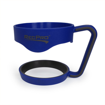 RecPro 30oz Handle for Stainless Steel Tumbler Blue