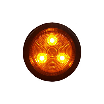 "2"" Amber/Amber Round Light Kit"