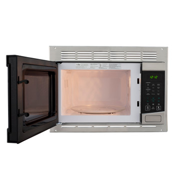RV Microwave Stainless Steel 1.0 cu. ft.