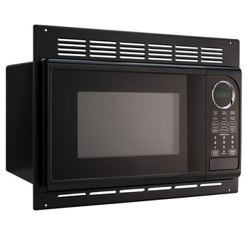 RV Microwave Black