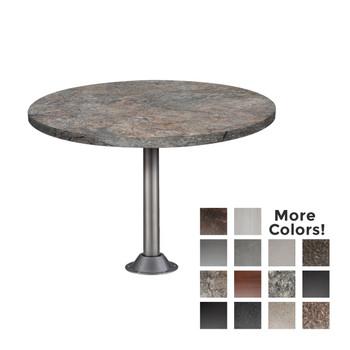 Flush Mount for RV Dinette Table Leg