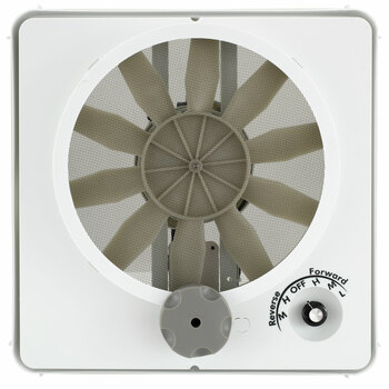 Heng's 90046-CR Vortex II Fan Kit Multi-Speed