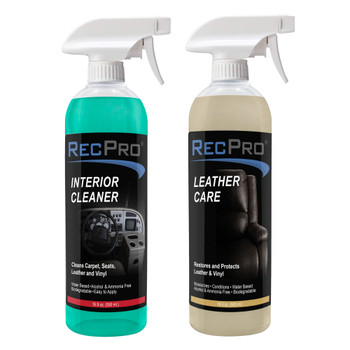 RecPro Interior Cleaner and Leather Care Protectant