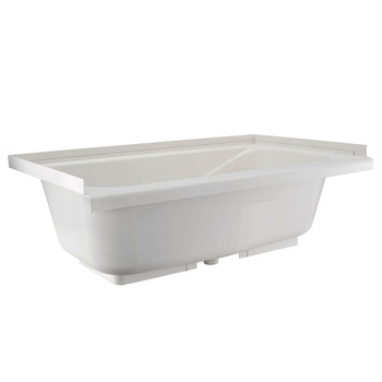 "Alpha RV Bath Tub 40"" x 22"" White"