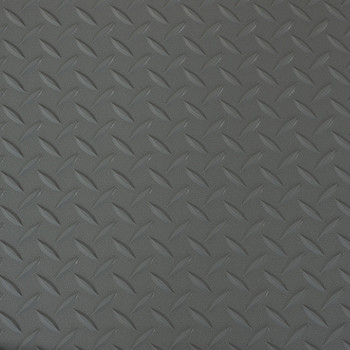 "8'2"" Diamond Pattern RV Flooring In Gray"