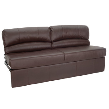 "RecPro Charles 62"" RV Jackknife Sleeper Sofa with Optional Legs"