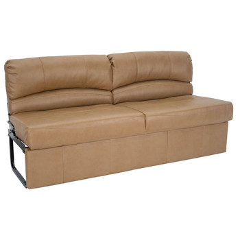 "RecPro Charles 72"" RV Jackknife Sleeper Sofa with Optional Legs"