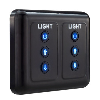 RecPro LED RV Dimmer Switch Dual Channel for LED RV Lighting