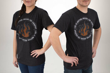 RecPro Camping T-shirt Life is Better Around the Campfire