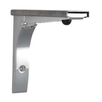 Foldable Shelf Brackets Commercial Grade for Concession Stands & Food Trucks