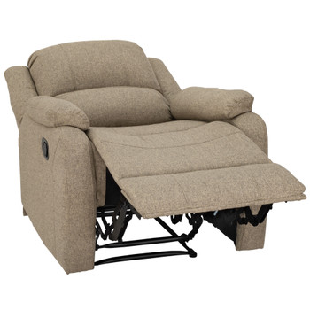"""RecPro Charles 30"""" RV Wall Hugger Recliner RV Zero Wall Chair in Cloth"""