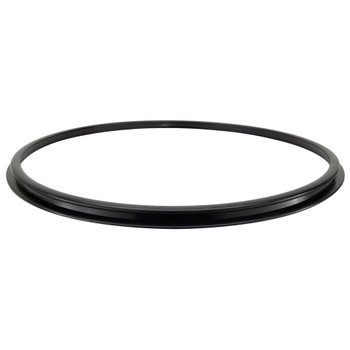 Replacement Euro Chair Ring Base Bottom - Black Plastic
