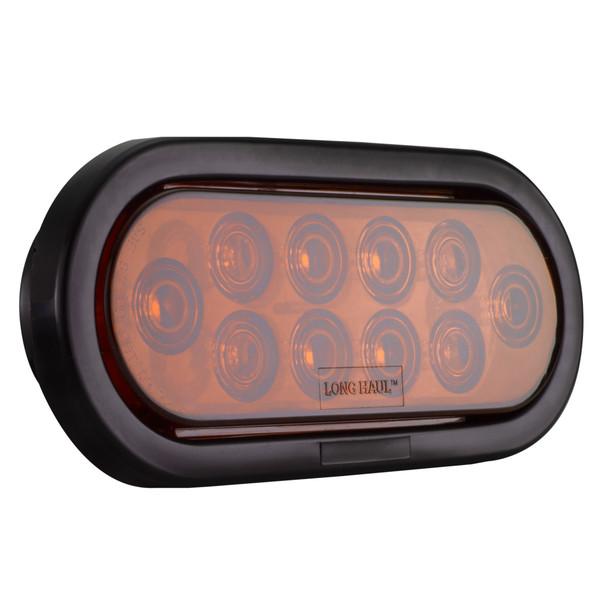 "6"" Oval LED Sealed Stop Turn Tail Light"