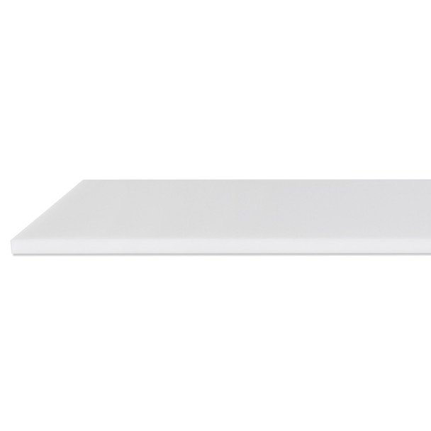 """Concession Stand Cutting Board 48"""" White"""