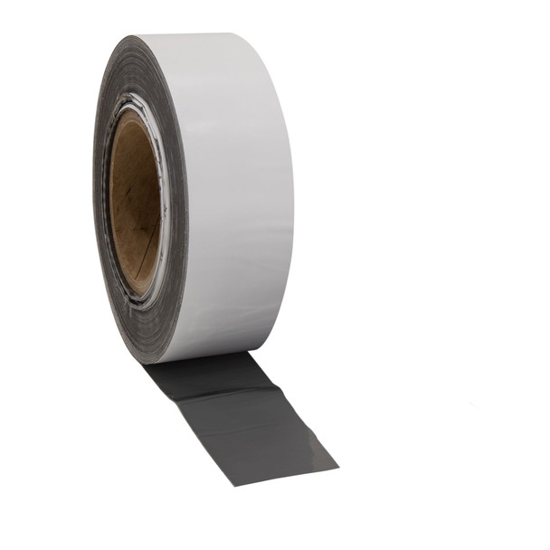 """RecBond RV Rubber Roof Seal 2"""" White - Cut to Length"""