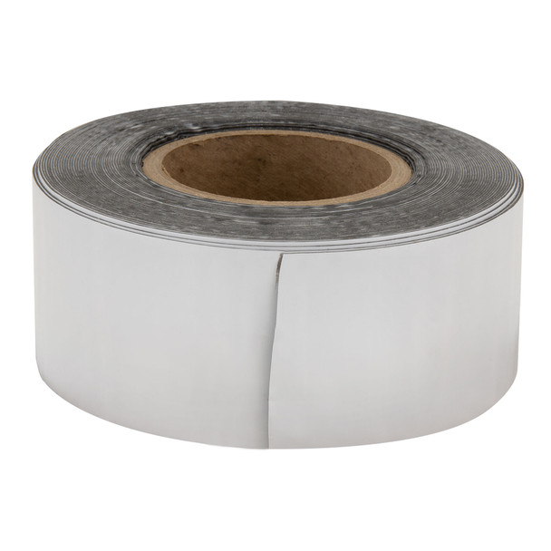 """RecBond RV Rubber Roof Seal 4"""" White - Cut to Length"""