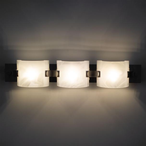 "18"" RV Vanity Light 12V LED Brushed Nickel"