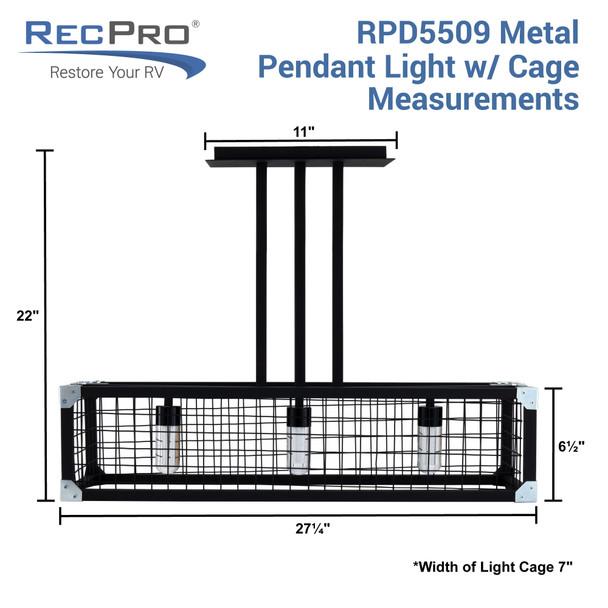 RV 12V LED Island Light 3500K
