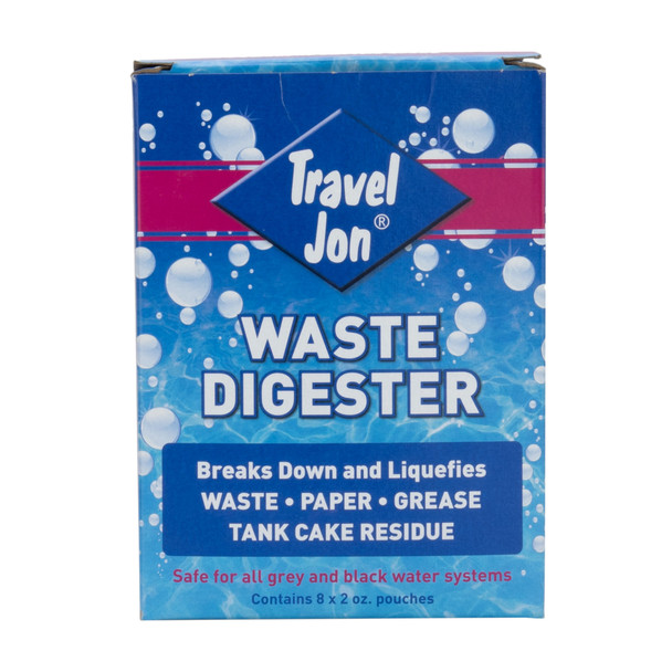 Travel Jon Waste Digester RV Holding Tank Treatment and Deodorizer