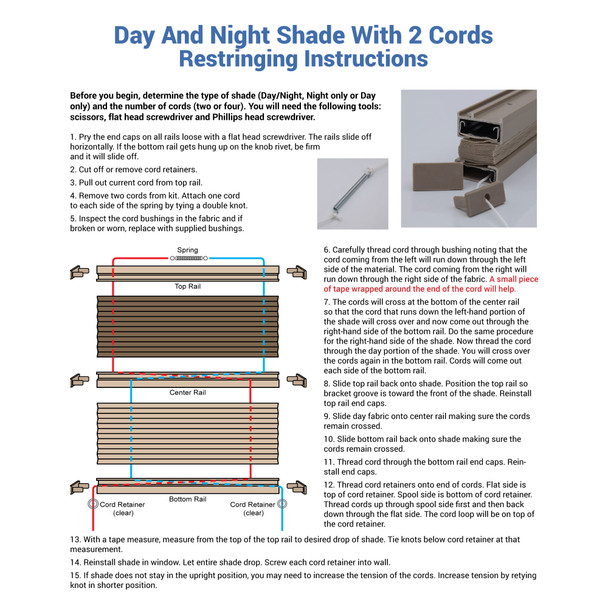RV Shade Repair Kit