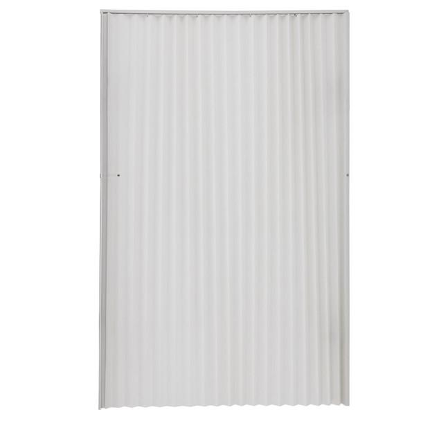 "RV Pleated Folding Door 48"" x 75"" Grey"