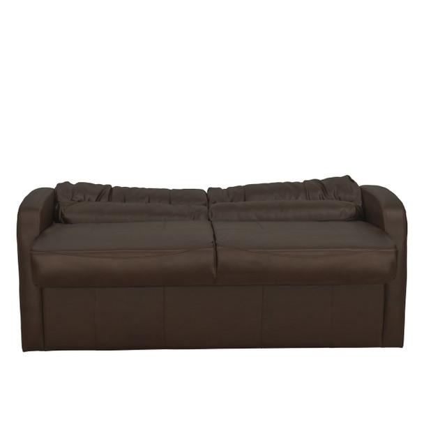 RV Sleeper Sofa Jackknife Mahogany