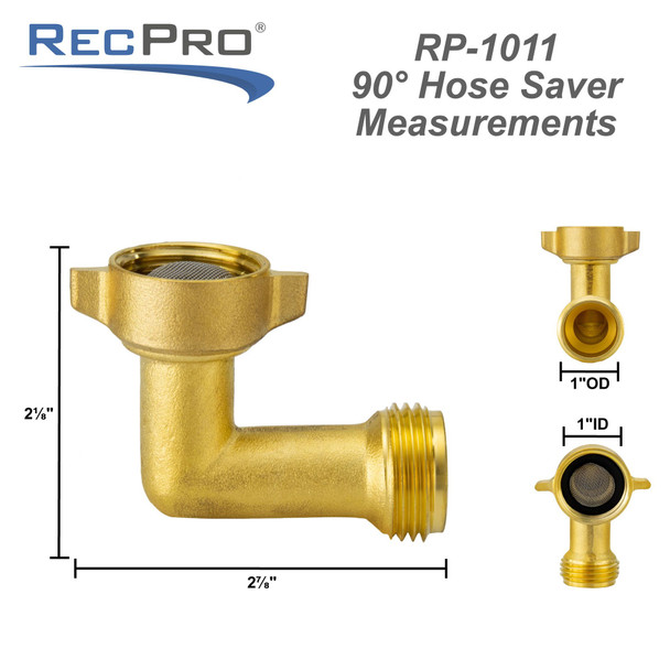 90 Degree City Water Inlet Elbow Fitting