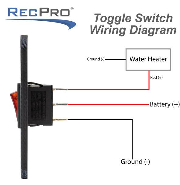 RV Toggle Switch