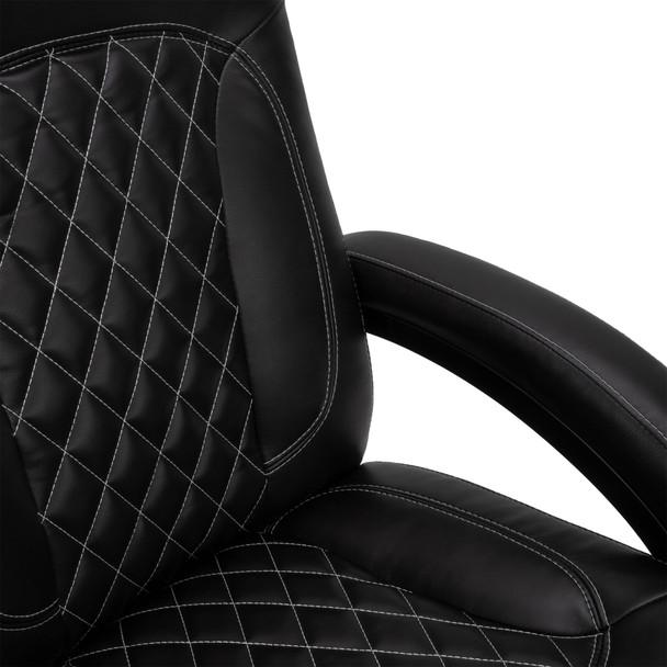 "RecPro Nash 28"" RV Euro Chair Recliner in Black"