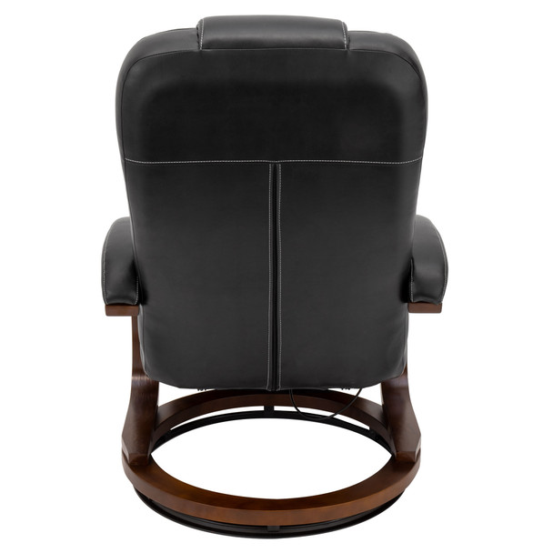 "RecPro Nash 28"" RV Euro Chair Recliner in Black"