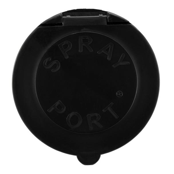 RV Exterior Spray Port Hook-Up Connector