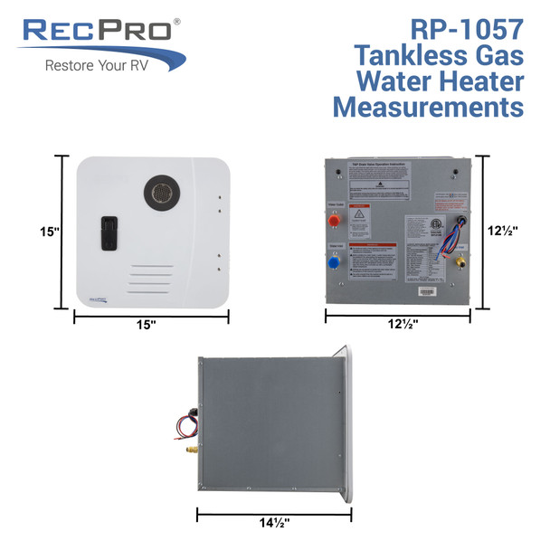RV Tankless Water Heater